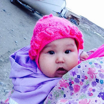 Baby in North